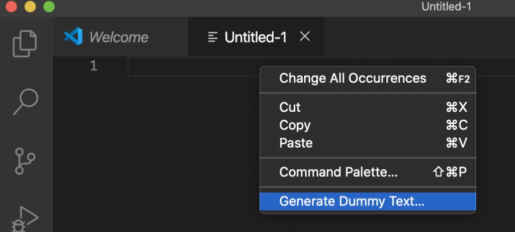 Dummy Text Generator