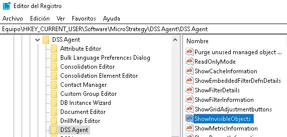 Editor del Registro