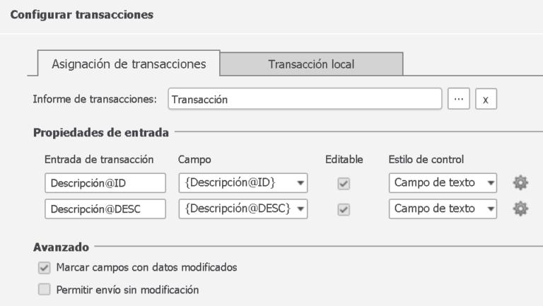 ¿Qué es y cómo crear una transacción?