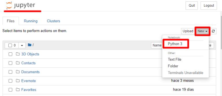 Instalar Python 3 y Jupyter Notebook en Windows