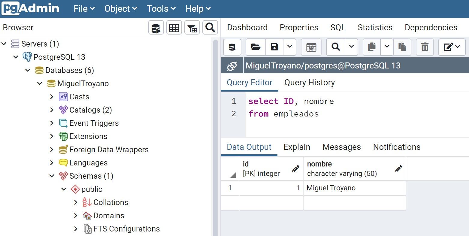PostgreSQL insert select