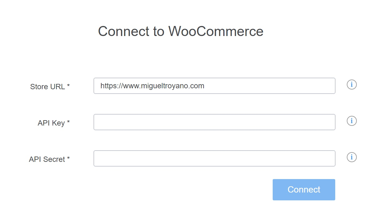 MicroStrategy conectar con woocommerce