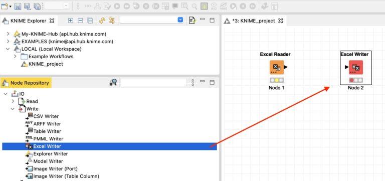 Leer y escribir en Excel con KNIME