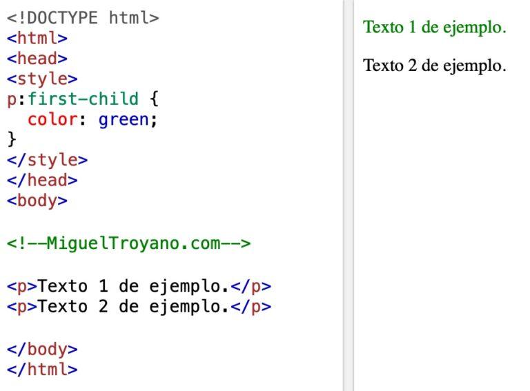 Selectores de pseudo clase en CSS