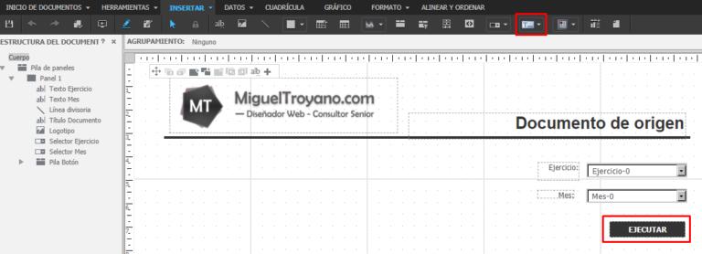 Enviar valores de un selector a otro documento con URL API en MicroStrategy