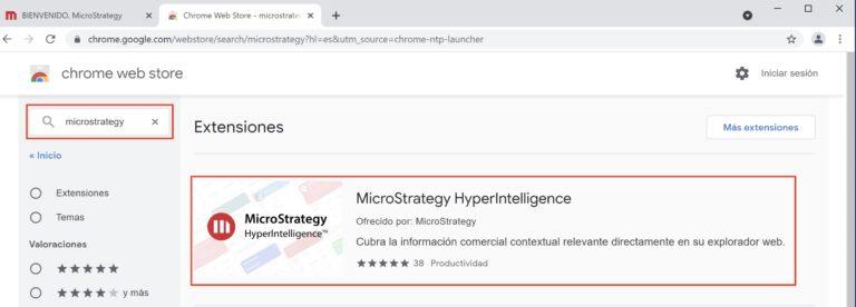 Instalar y configurar MicroStrategy HyperIntelligence Web